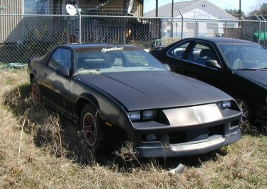 Camaro King on 1987 Iroc Camaro Price   6500